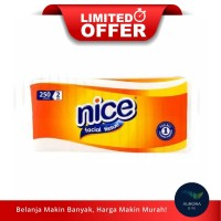 [LIMITED OFFER] NICE Facial Tissue Non Perfumed 2 Ply 250gr