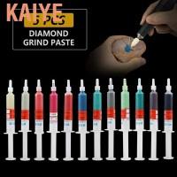 Kaiye 5pc/set Diamond Grinding Polishing Paste Lapping Compound Grit