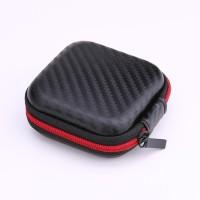 Kotak Square EVA Kasus Headset Bluetooth Earphone Kabel Penyimpanan