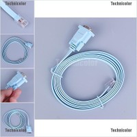 Tcid Kabel Adapter Converter RS232 RS232 Serial to RJ45 CAT5 Warna