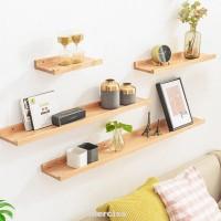 Rak Dinding Model Papan Scaffold Floating Untuk Ruang Tamu Kamar
