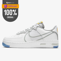 Sepatu Sneakers Nike Air Force 1 React WHITE Original CT1020-100