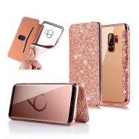 Casing Dompet Flip Case Mewah Samsung Galaxy S9 Plus S9 S8 + S7 Edge