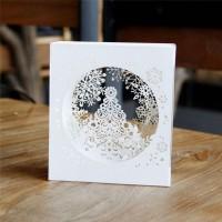 Kartu Ucapan Pop Up 3D Handmade untuk Natal