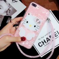 Casing Hard Case Motif Hello Kitty Marble Mirror untuk oppo F3 F5 F7
