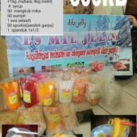 Paket usaha es mie jelly 600rb