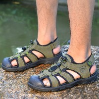 Sandal Olahraga Pria Keren untuk Pantai / Musim Panas/outdoor