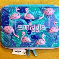 SET Smiggle Imagine Flamingo Hardtop Pencil Case Set perkakas