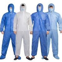 SH Stock Unisex Disposable Laboratory Hospital Hood Isolation Gown