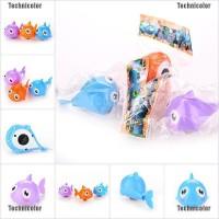 Tcid 1 X Shark Clockwork Toys Bath Gift Wind Up Clockwork Play Baby