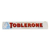 TOBLERONE Swiss White Chocolate 100 Gr Cokelat Putih Kacang Almond