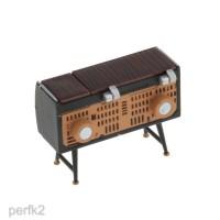 Miniatur Furniture Ruang Tamu Skala 1 / 12 untuk Dekorasi Rumah