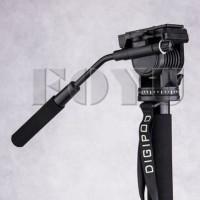 Monopod Kamera Video dengan Fluid Head dan Kaki Tripod Digipod MP274