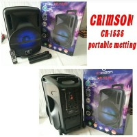 Speaker Meeting Portable Waerles Crimson 15inch CR 1535