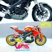 cover mesin new vixion nvl nva old all new vixion r 2017 undercowl