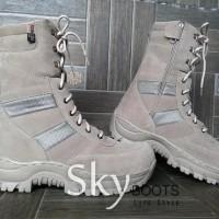 Sepatu Boot Pria Combat Pdl Safety ujung Plat Besi High 9inc 511
