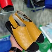 sandal kulit wanita asli garut termurah