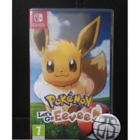 nintendo switch cartridge card game pokemon let's go eevee lets let