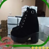 Sepatu Boots Wanita Trend 2019 Fujin Brand 2018 Fashion Autumn Winter