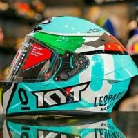 Helm Fullface Kyt Tt Course Dalla Porta Leopard