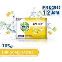 Dettol Sabun Mandi Batang Profresh Fresh 105 gram