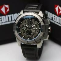 Jam tangan pria original Expedition E 3010 E3010 grey black