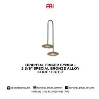 "Meinl ORIENTAL FINGER CYMBAL 2 3/8"" SPECIAL BRONZE ALLOY - FICY-2"