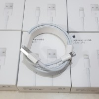 Lightning to USB Cable 2m Kabel Data Charger Iphone Original