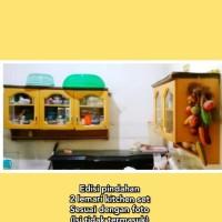 2 lemari dapur kitchen set sangat murah perabotan rumah tangga