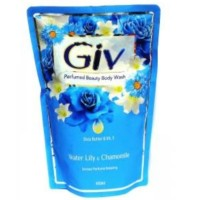 GIV Body Wash Water Lily & Chamomile 450ml