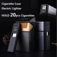 Kotak Korek Api Elektrik Usb Ciggarete Box Lighter