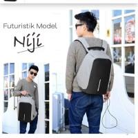 Ransel Niji / Niji Backpack / Anti maling