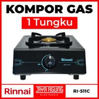 Kompor Gas 1 Tungku RINNAI RI-511C / RI 511 C / RI511C / Api Ekonomis