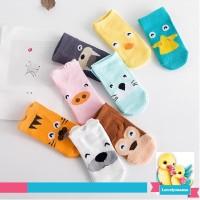 Kaos Kaki anak Bayi cute animal 3d lucu import boy/girl anti slip baby