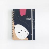 Notebook Spiral #AMUBA - Notebook Custom