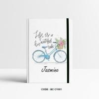 Basic Notebook Custom #RIDE - Custom Notebook - Planner - Journal -