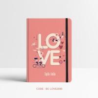 Basic Notebook Custom #LOVE3000 - Custom Notebook - Planner - Journal