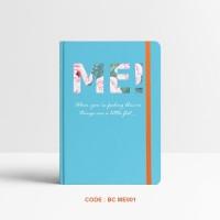 Basic Notebook Custom #ME - Custom Notebook - Planner - Journal -