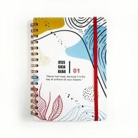Notebook Spiral #ABSTRAK - Notebook Custom