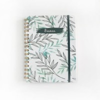 Notebook Spiral #FLORAL 02 - Notebook Custom