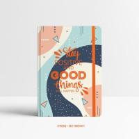 Basic Notebook Custom #Memphis - Custom Notebook - Planner - Journal -