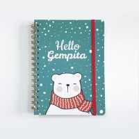 Notebook Spiral #BEAR - Notebook Custom