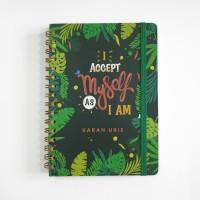 Notebook Spiral #PALM - Notebook Custom