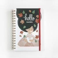 Notebook Spiral #GIRL - Notebook Custom