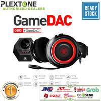 PLEXTONE G600 Headphone Over-ear Gaming Headset + GS5 USB 7.1 Surround - Merah