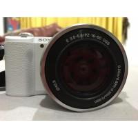 Sony Alpha A5100 Kit 16-50mm - White +FREE / Sony A5100 mirrorless