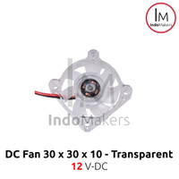 LED DC Mini Cooling Fan 3010 12V for 3D Printer / Computer 2 pin