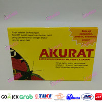 Akurat Alat Tes Uji Kehamilan Test Pack Strip