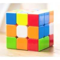 Rubik 3x3 Yongjun Magic Cube Stickerless Red / Speedcube