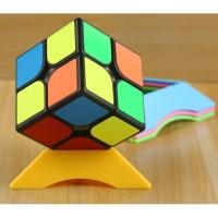 Rubik 2x2 Guanlong YJ Magic Cube 3x3x3 Yongjun Speed Cube White Case